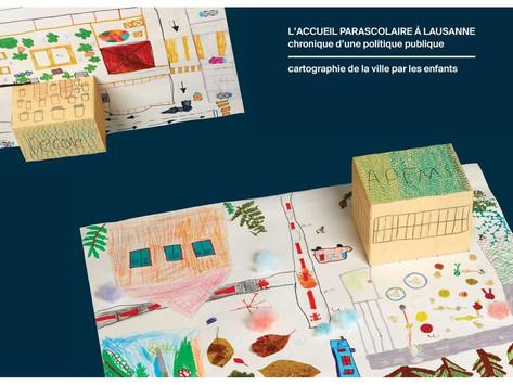 Accueil parascolaire : un livre montre Lausanne à travers les yeux des enfants