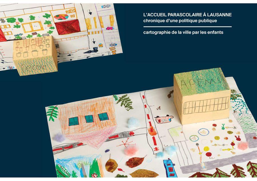 Le quartier de l'APEMS des Aubépines à Lausanne à travers les yeux des enfants
