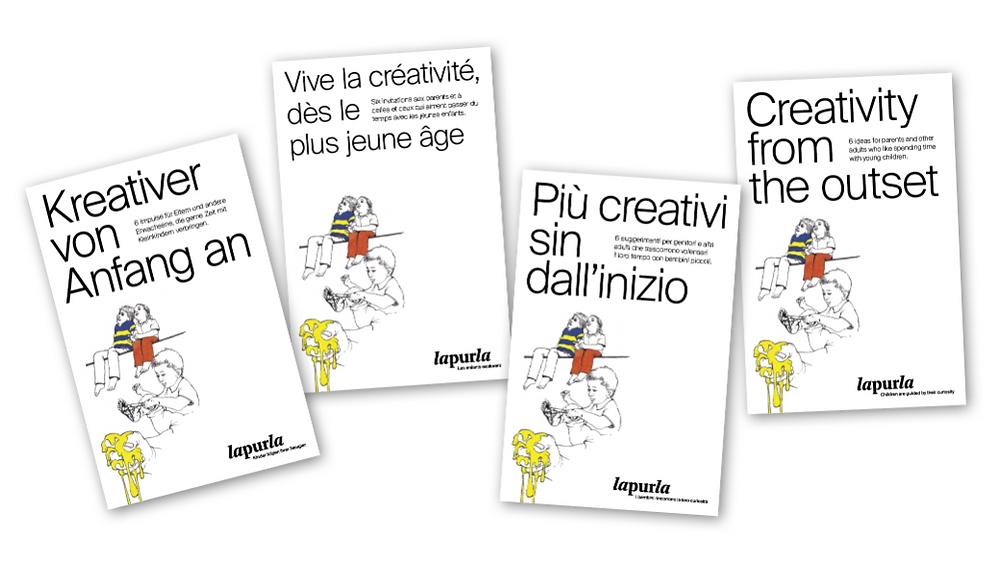 Kreativer von Anfang an - Broschüre von Lapurla (2020)