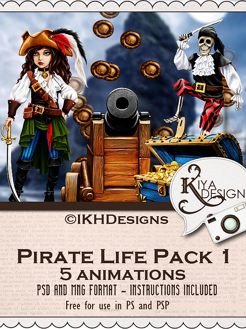 Pirate Life Pack 1