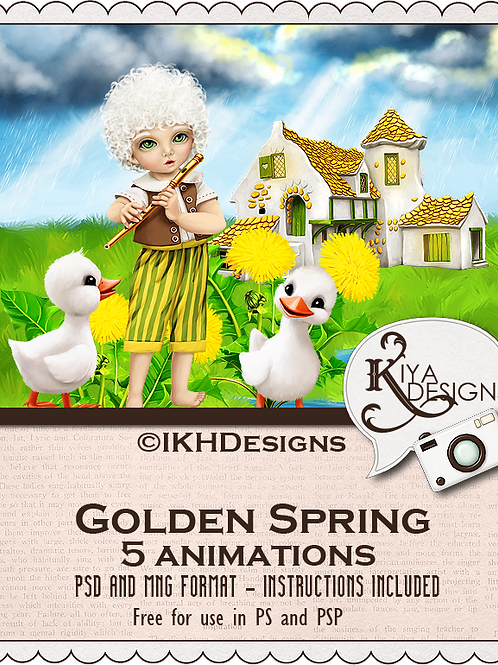 Golden Spring Animation Pack