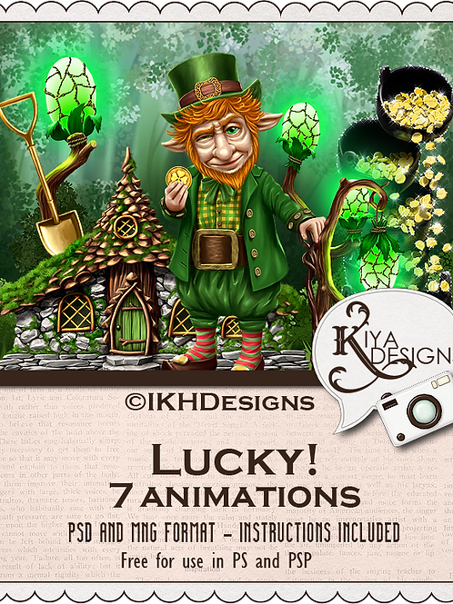 Lucky! Animation Pack