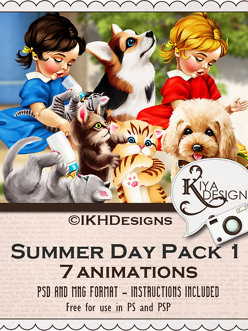 Summer Day Animation Pack 1