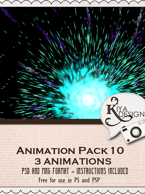 Animation Pack #10