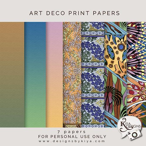 Art Deco Prints Papers