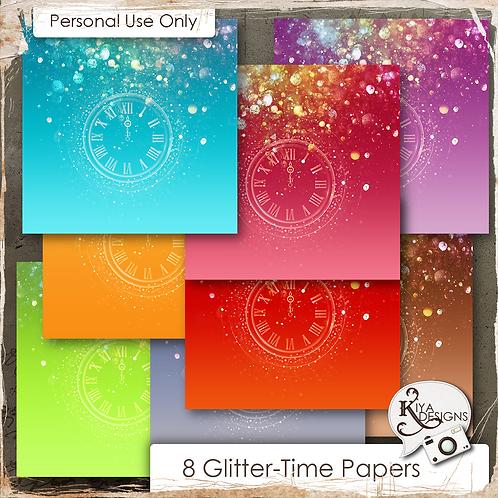 Glitter Time Paper Pack