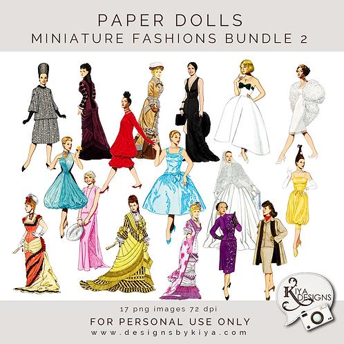 Paper Dolls - Fashion Bundle 2