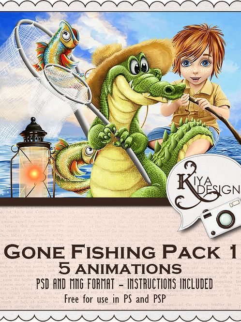 Gone Fishing Pack #1