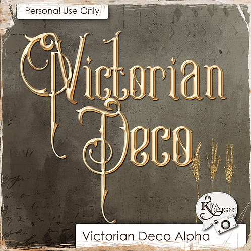Victorian Deco Alpha Pack