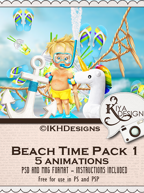 Beach Time Pack 1