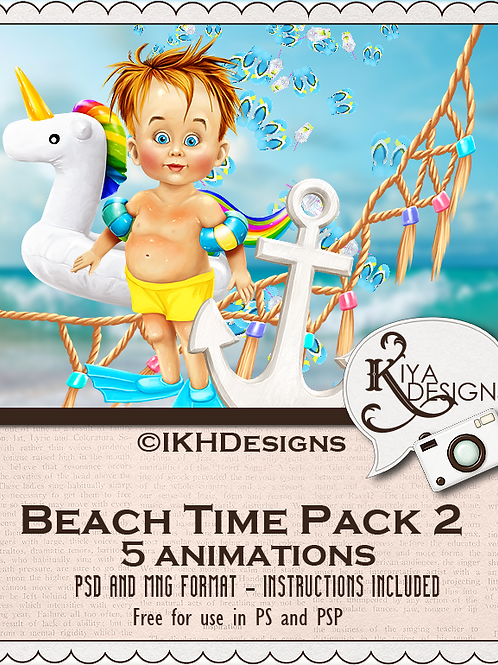 Beach Time Pack 2