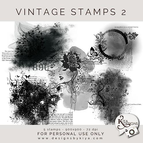 Vintage Stamps Pack 2