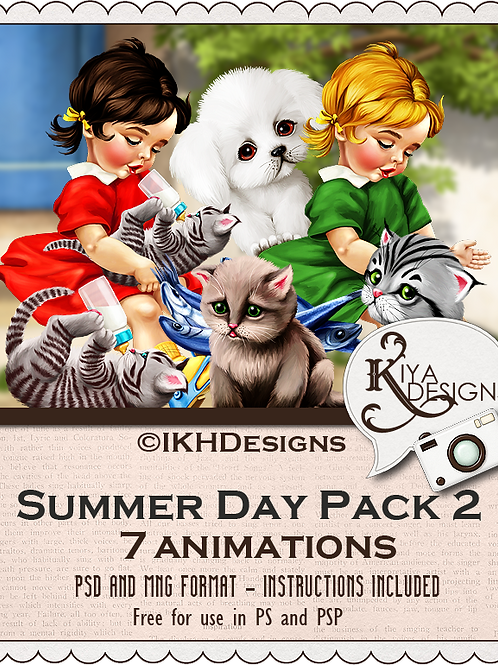 Summer Day Animation Pack2