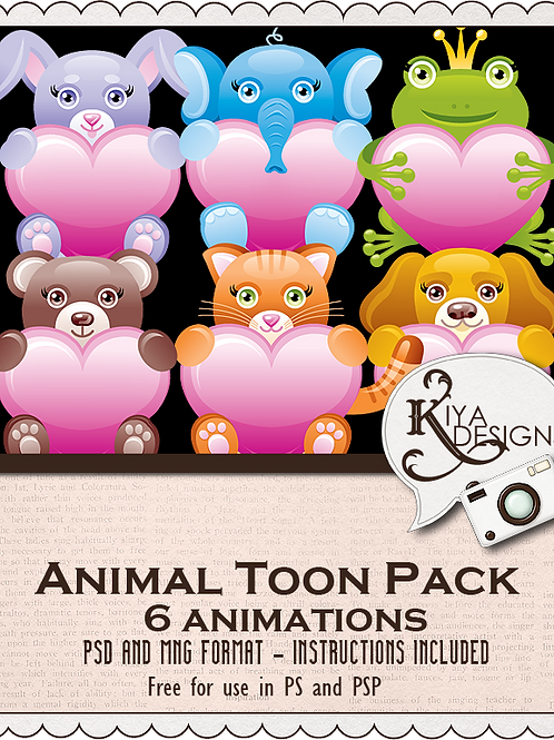 Animal Toons Pack