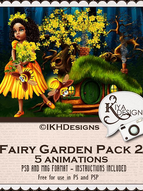 Fairy Garden Animation Pack 2