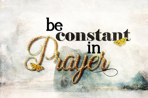 Constant Prayer Printable Wall Art