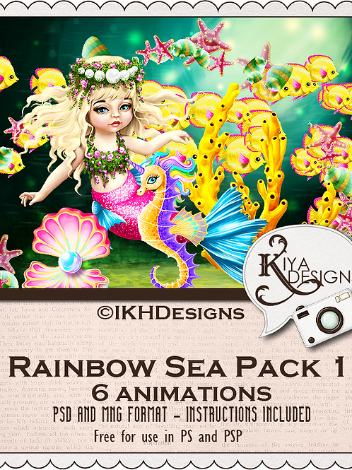 Rainbow Sea Pack 1