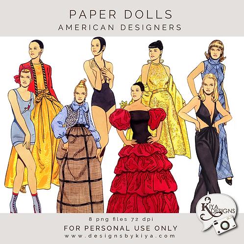 Paper Dolls - American Designers