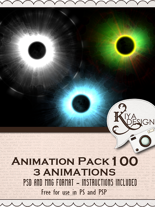 Animation Pack #100