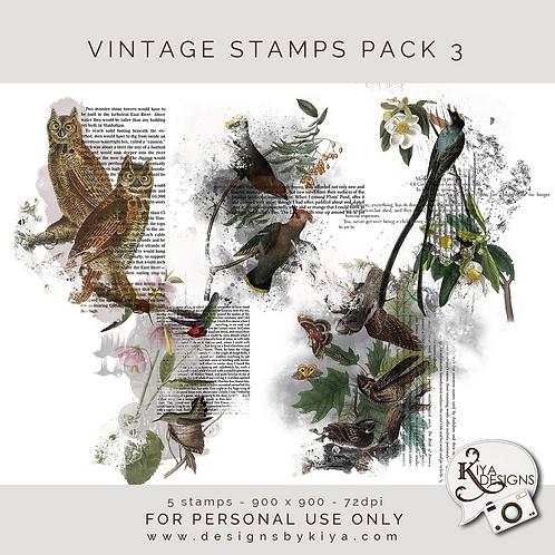 Vintage Stamps Pack 3