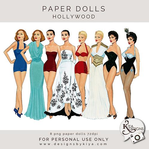Paper Dolls - Hollywood