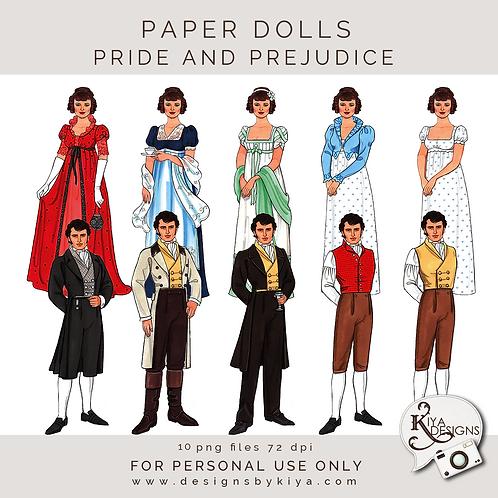 Paper Dolls - Pride and Prejudice