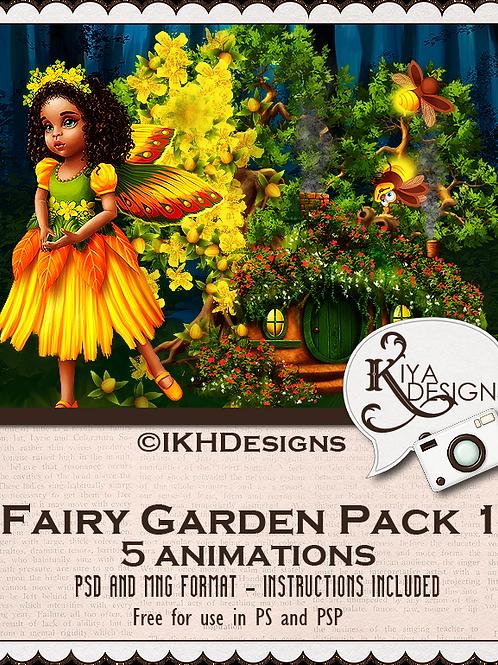 Fairy Garden Animation Pack 1