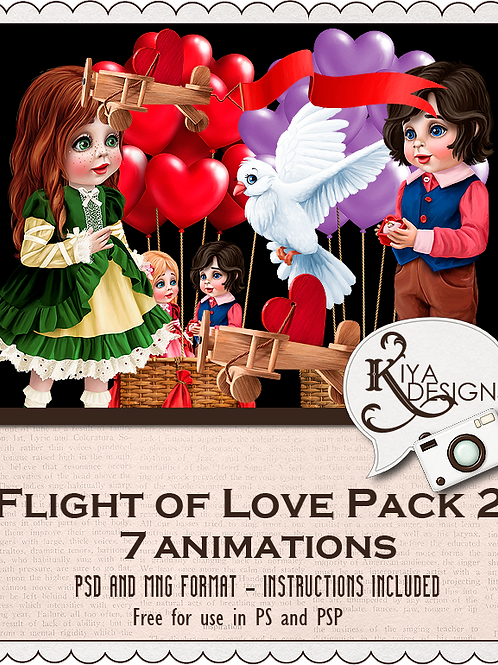Flight of Love Pack 2
