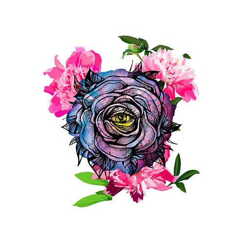 Eye of the Flower Printable Wear