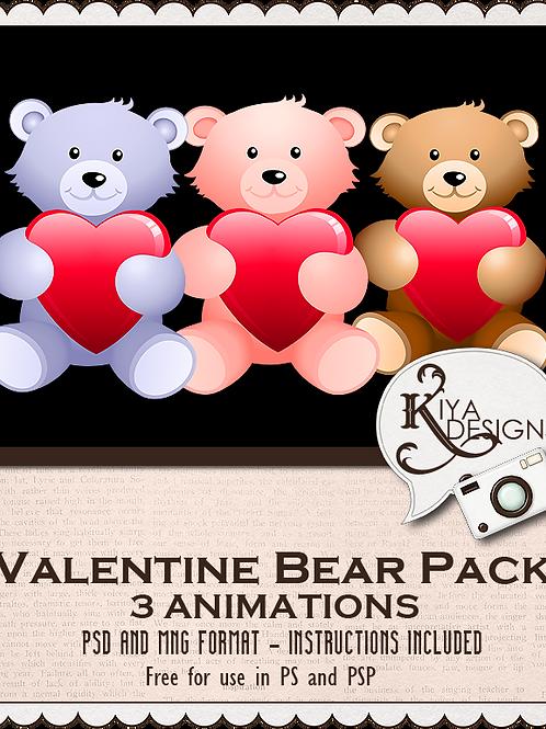 Valentine Bears Pack