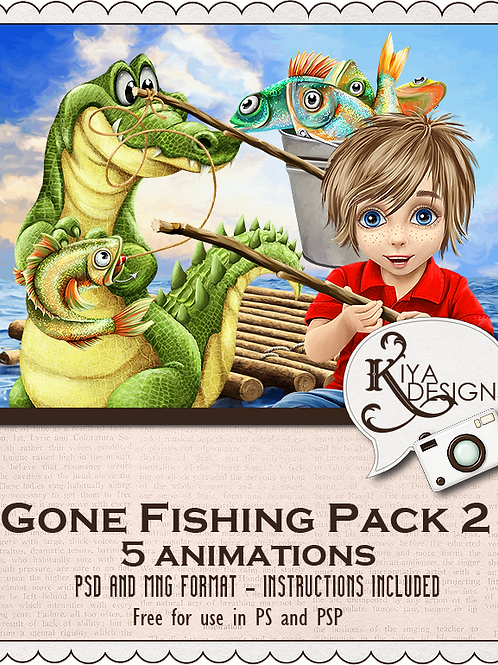 Gone Fishing Pack #2