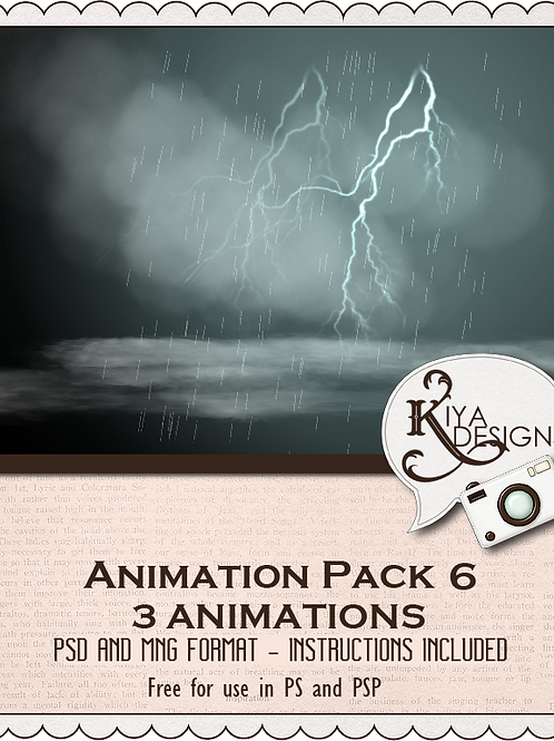 Animation Pack #6