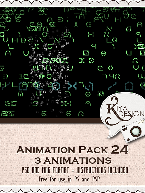 Animation Pack #24
