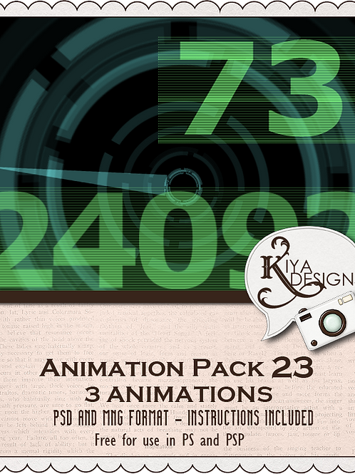 Animation Pack #23