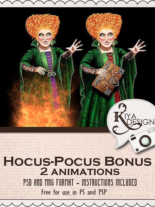 Hocus Pocus Pack Bonus