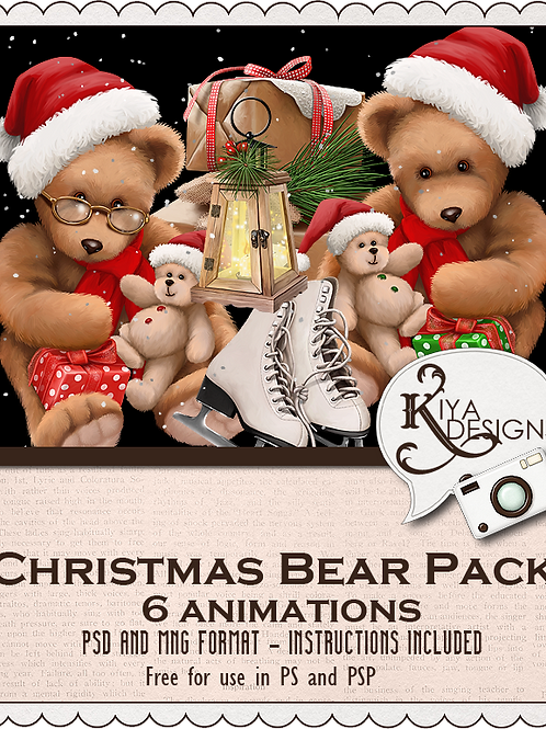 Christmas Bear Pack