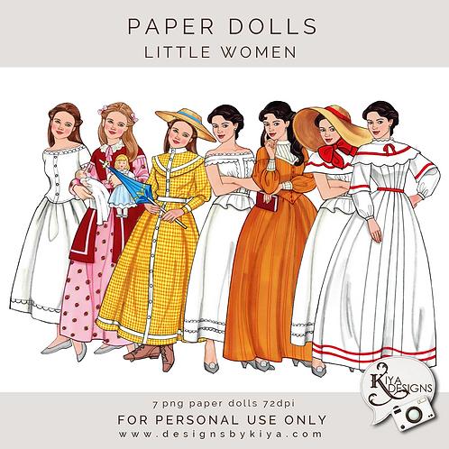 Paper Dolls - Little Women