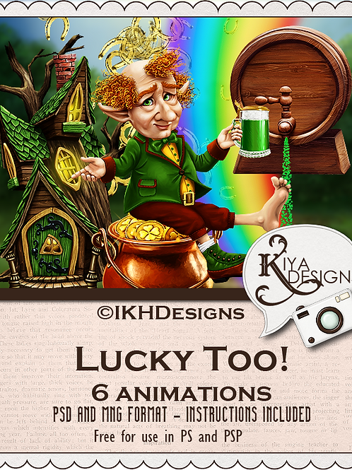 Lucky Too! Animation Pack