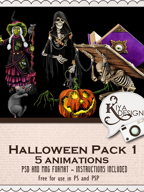 Halloween Pack #1