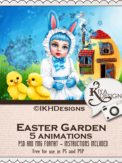 Easter Garden Animation Pack