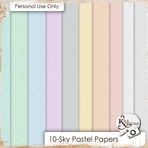 Sky Pastels Paper Pack