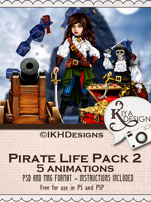 Pirate Life Pack 2