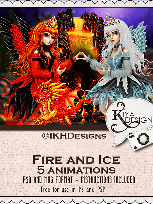 Fire and Ice Animation Pack