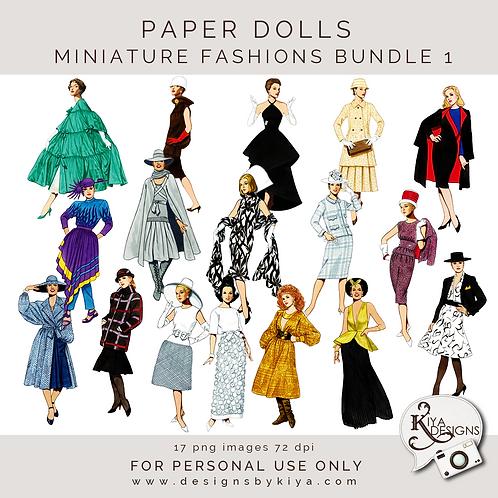 Paper Dolls - Fashion Bundle 1