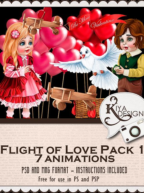 Flight of Love Pack 1