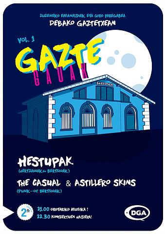 GAZTE GAUAK | Kartela
