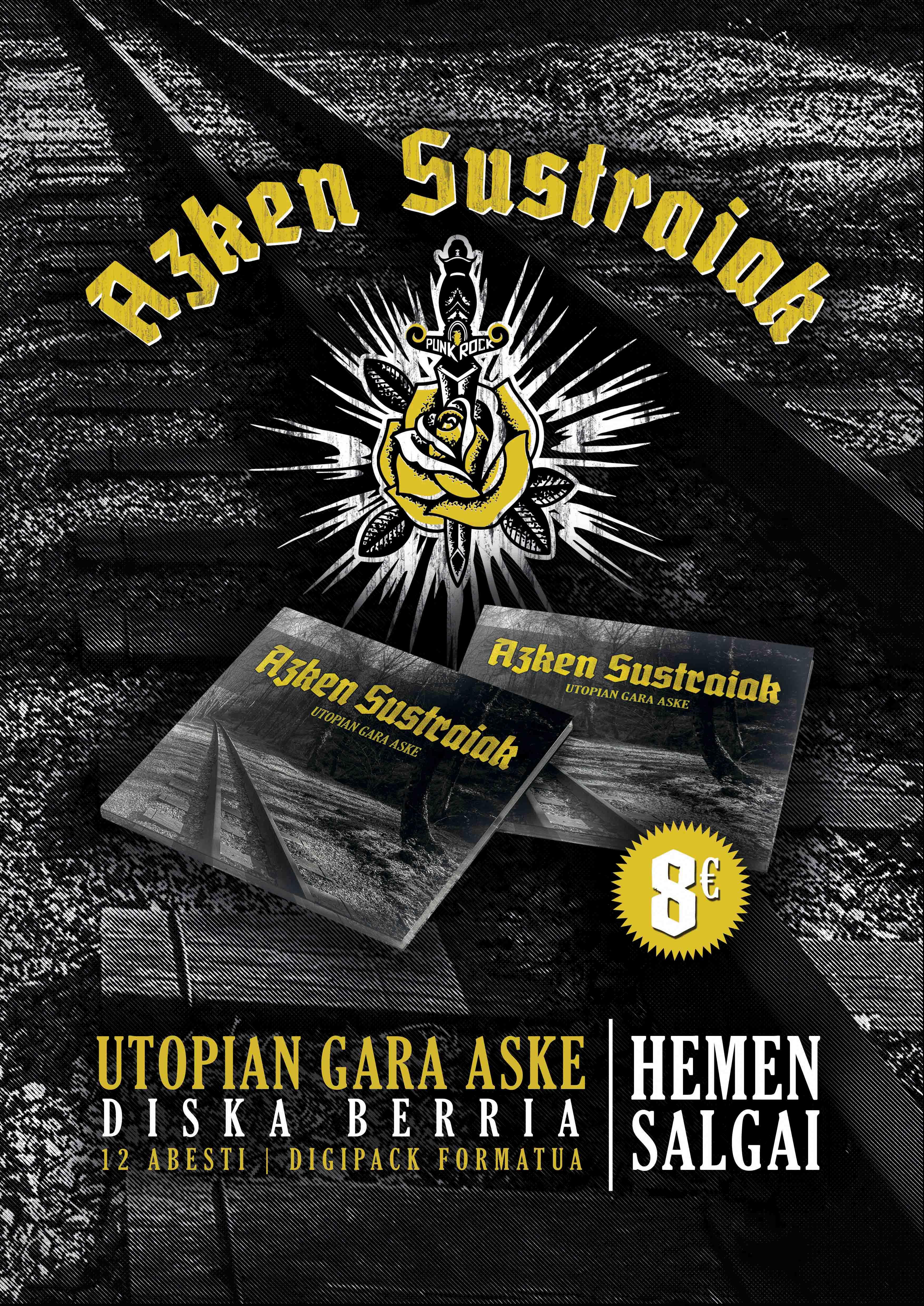 AZKEN SUSTRAIAK | Promo kartela