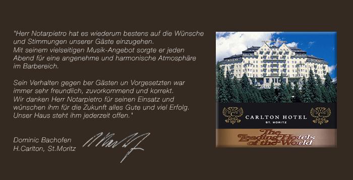 Wix. Hotel Carlton