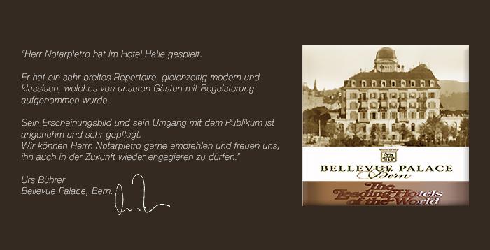 Wix. Hotel Bellevue