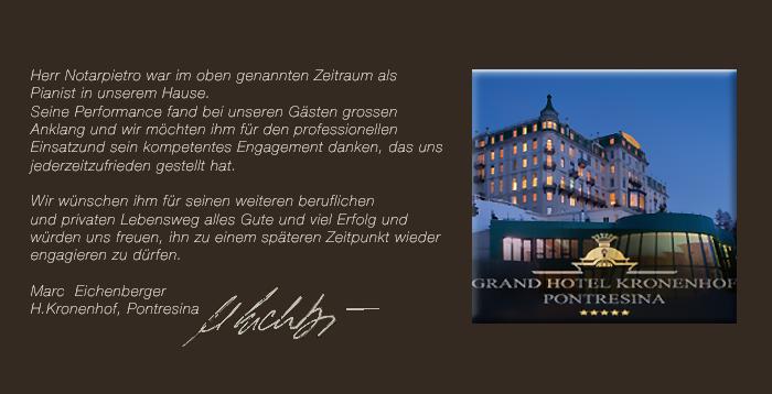 Wix. Hotel Kronenhof